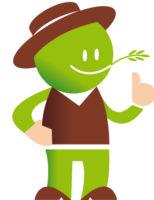 mascotte Mr Jardinage