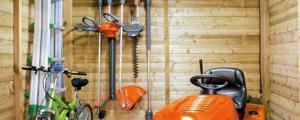cabane outils de jardin