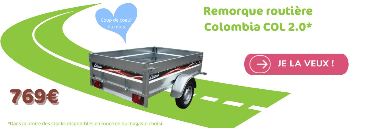 Remorque routière Colombia COL 2.0